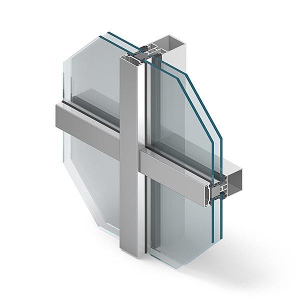Systemy fasadowe aluminiowe